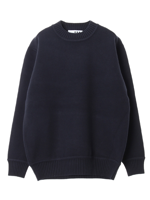 Men's dual layerd l/s crew neck