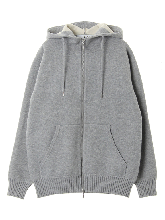 Men's dual layerd sweat zip hoody