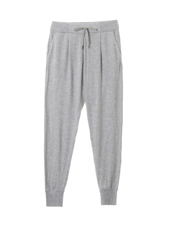 Brushed sweater jogger pant