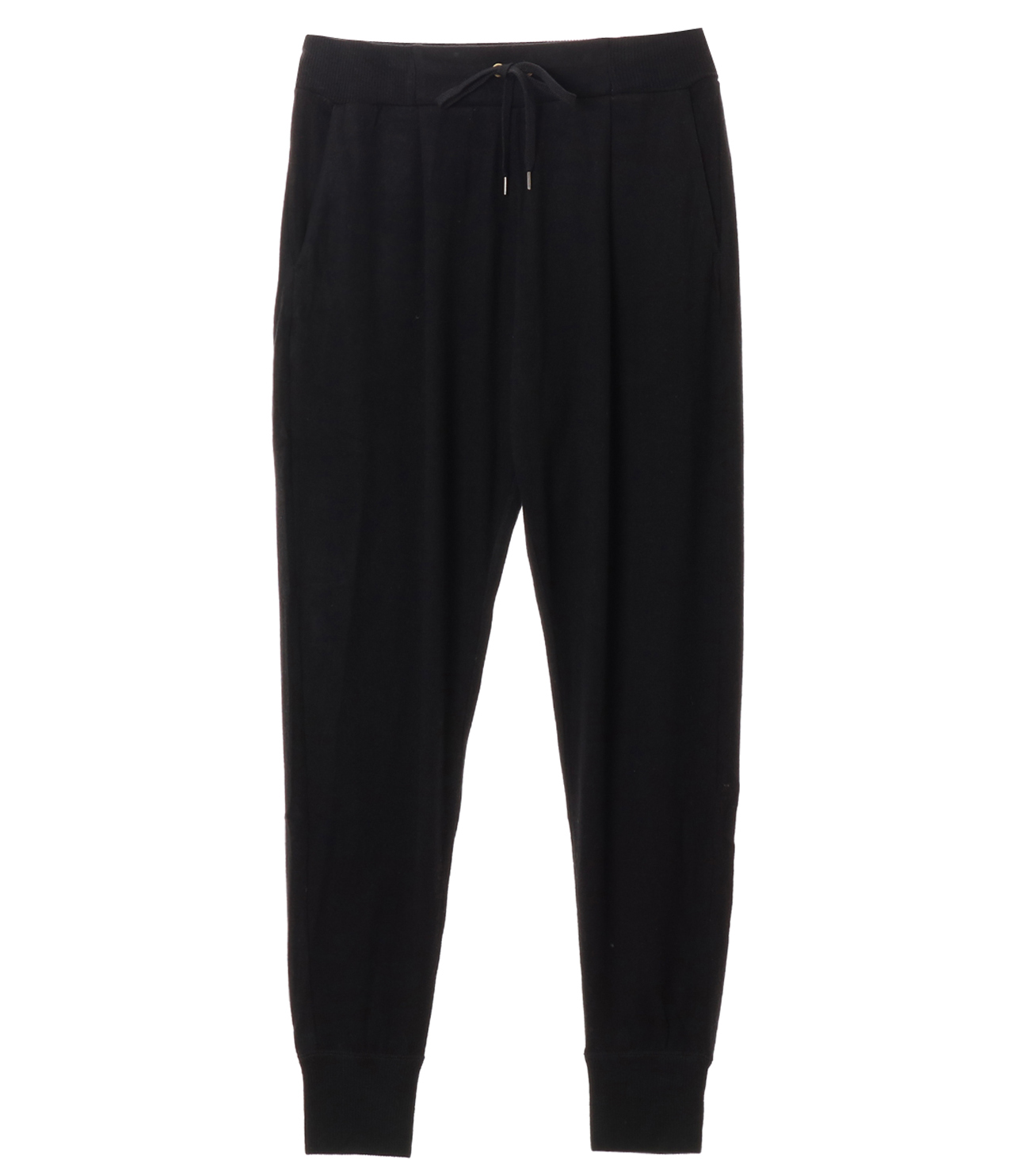 Brushed sweater jogger pant 詳細画像 black 1