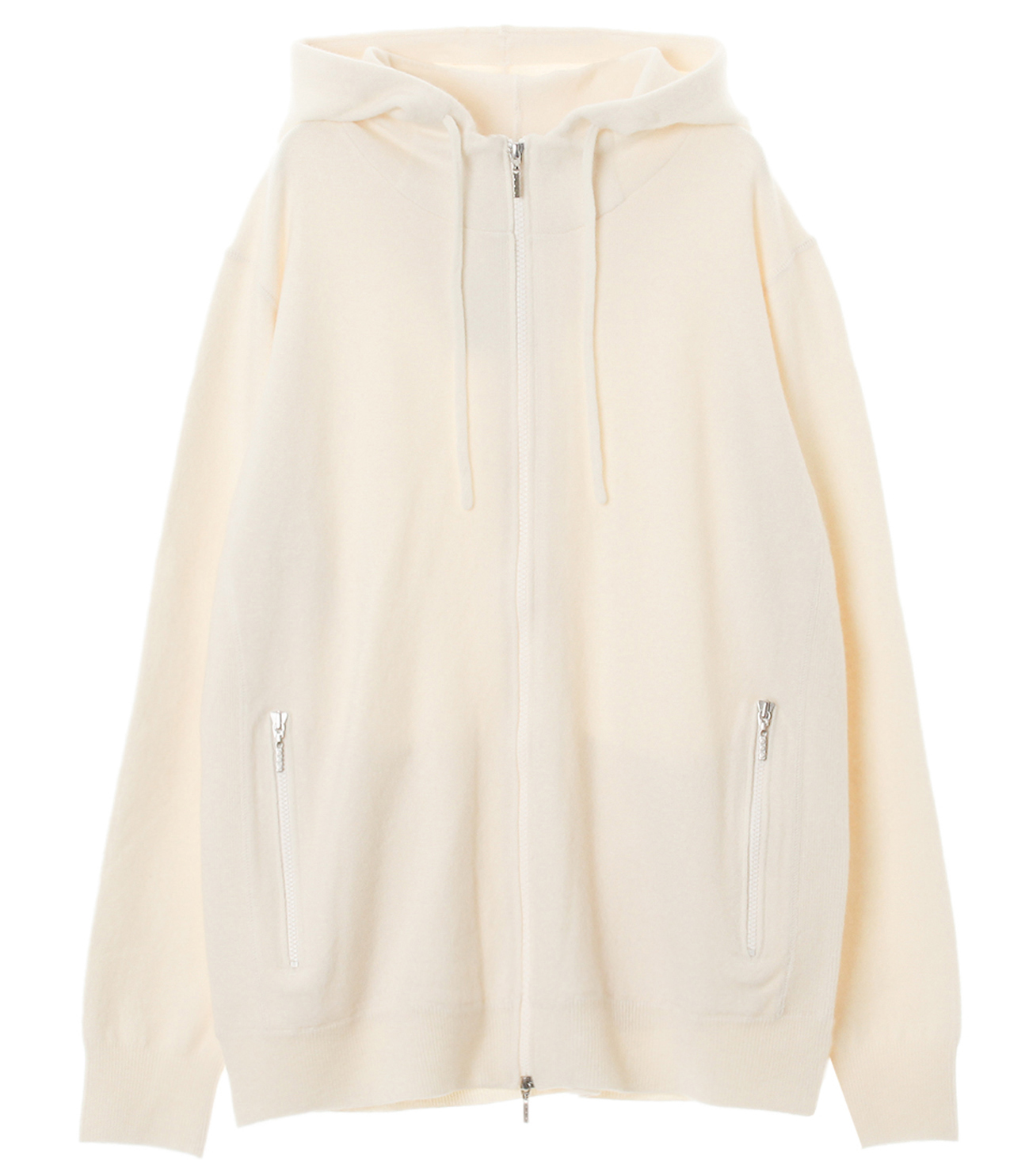 Men's tasmania wool zip parka 詳細画像 off white 1