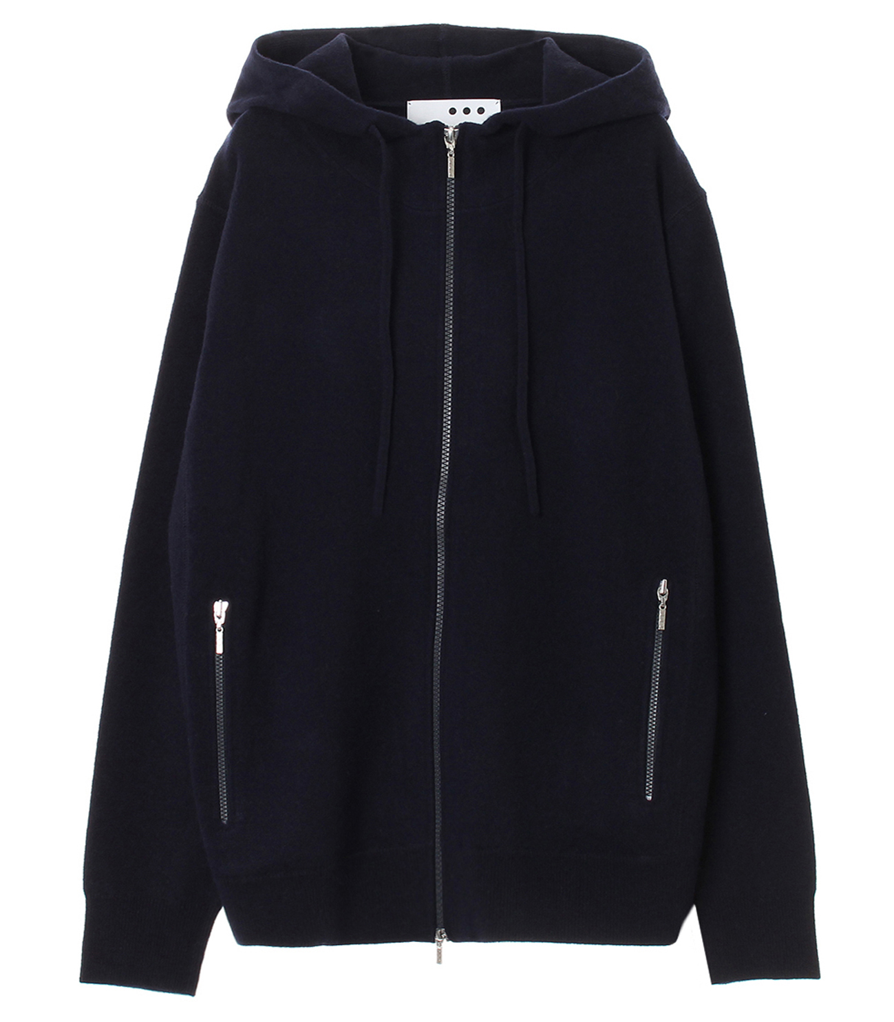 Men's tasmania wool zip parka 詳細画像 navy 1