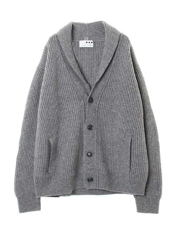 Men's tasmania wool shawl cardigan
