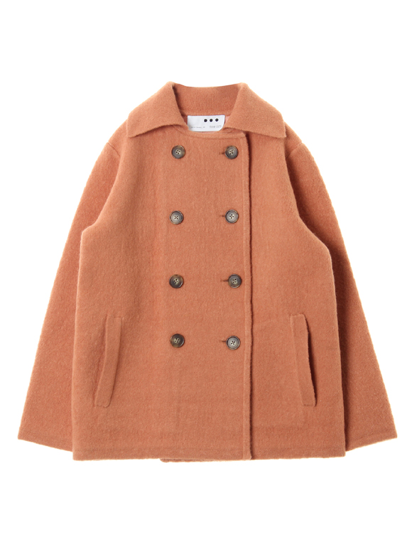 Wool yak short coat