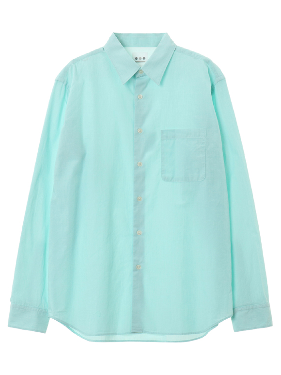Men's chambray broad l/s shirts