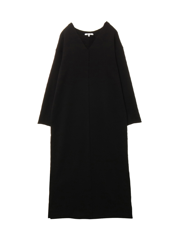 French terry l/s dress