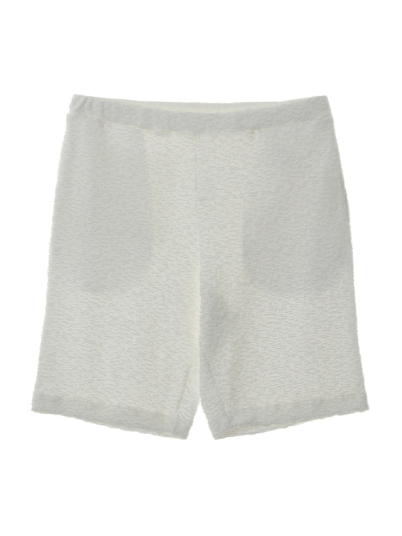 Men's bubbly pile sharling short