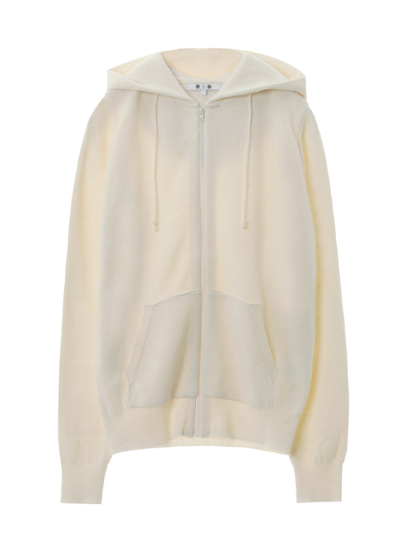 Warm cotton l/s zip up hoody
