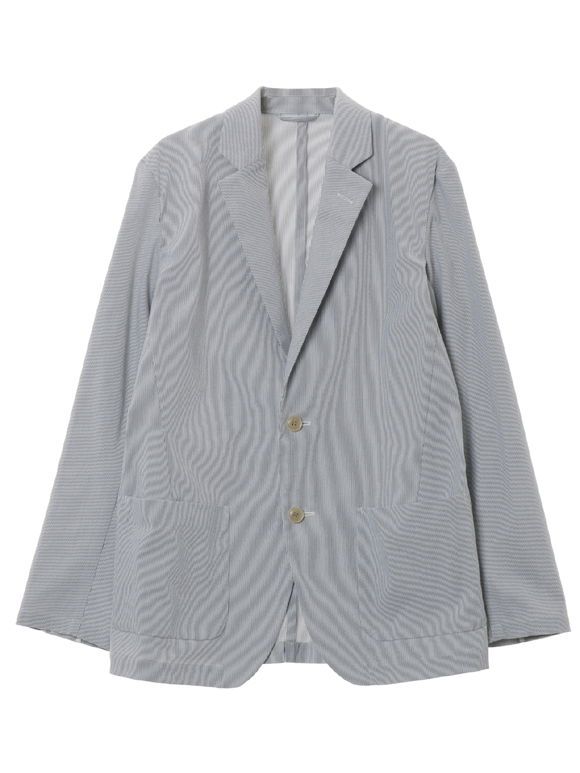 Men's seersucker tailored jacket