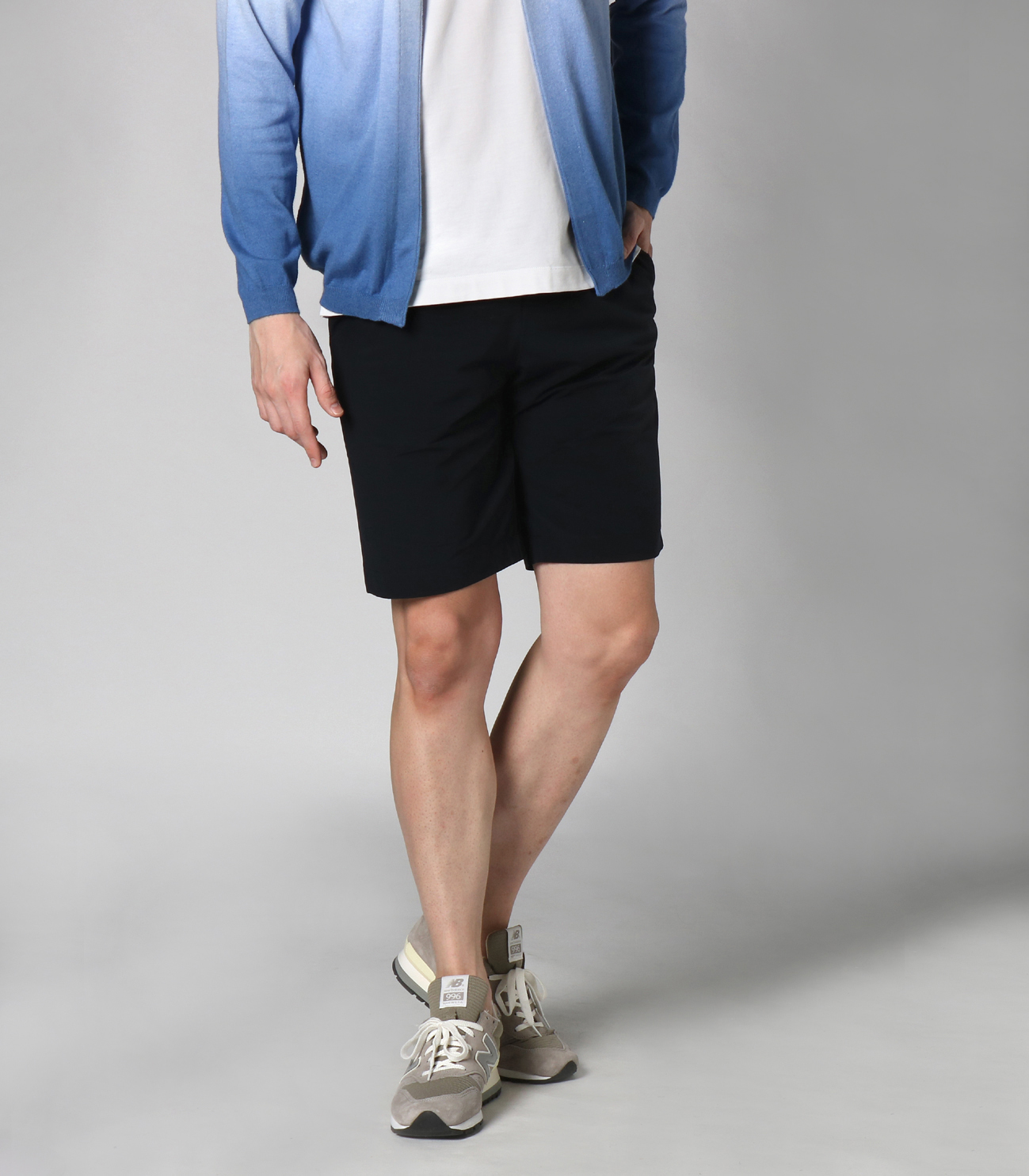 Men's travel line sharlingshorts 詳細画像 navy 6