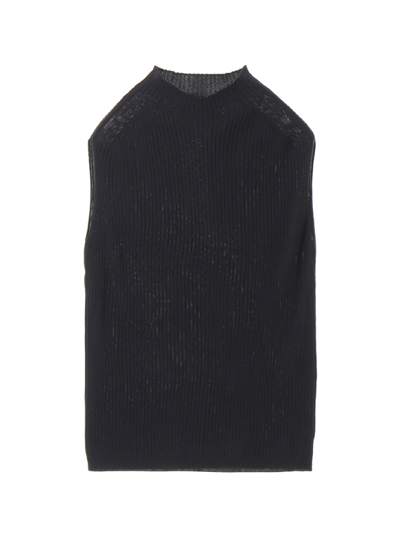Bemberg sweater mock neck tank