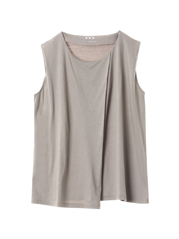 Ecovero cotton sleeveless top