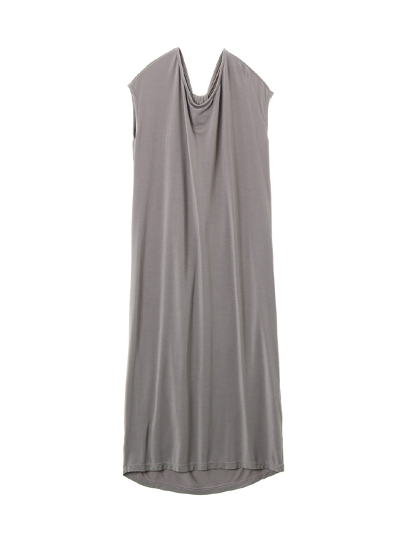 Class jersey back twisted dress