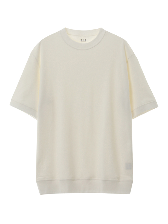 Men's silky long pile s/s crew T