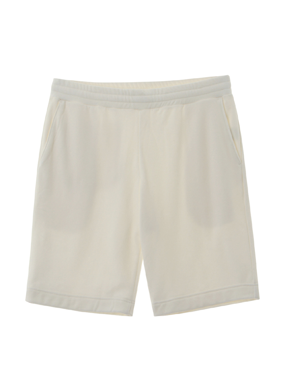 Men's silky long pile shorts