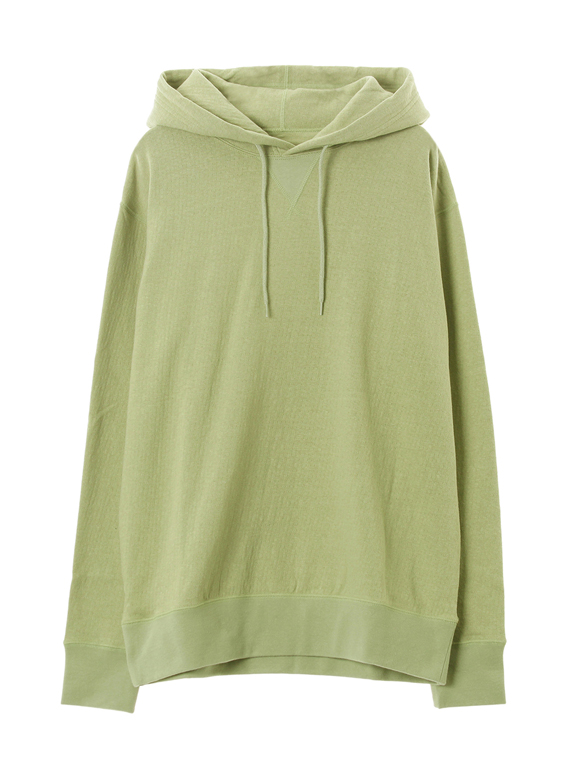 Men's raffy double gauze pullover hoody