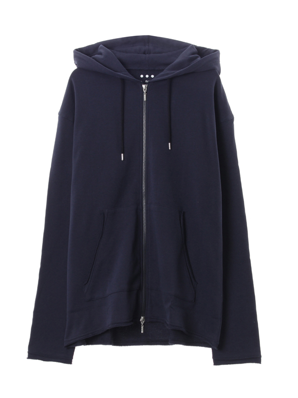 Men's suvin loopwheel zip hoody