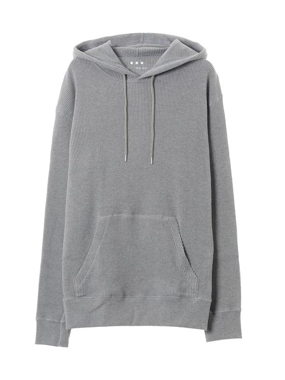 Men's suvin waffle pullover hoody