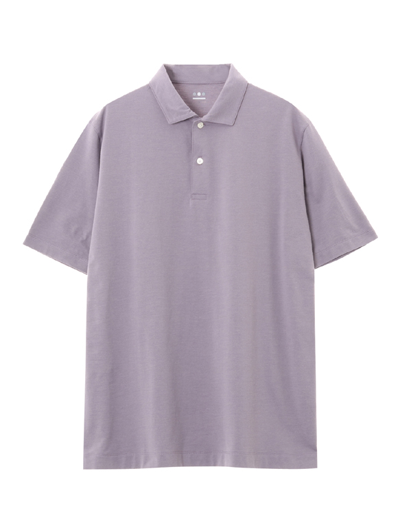 Men's powdery cotton s/s polo