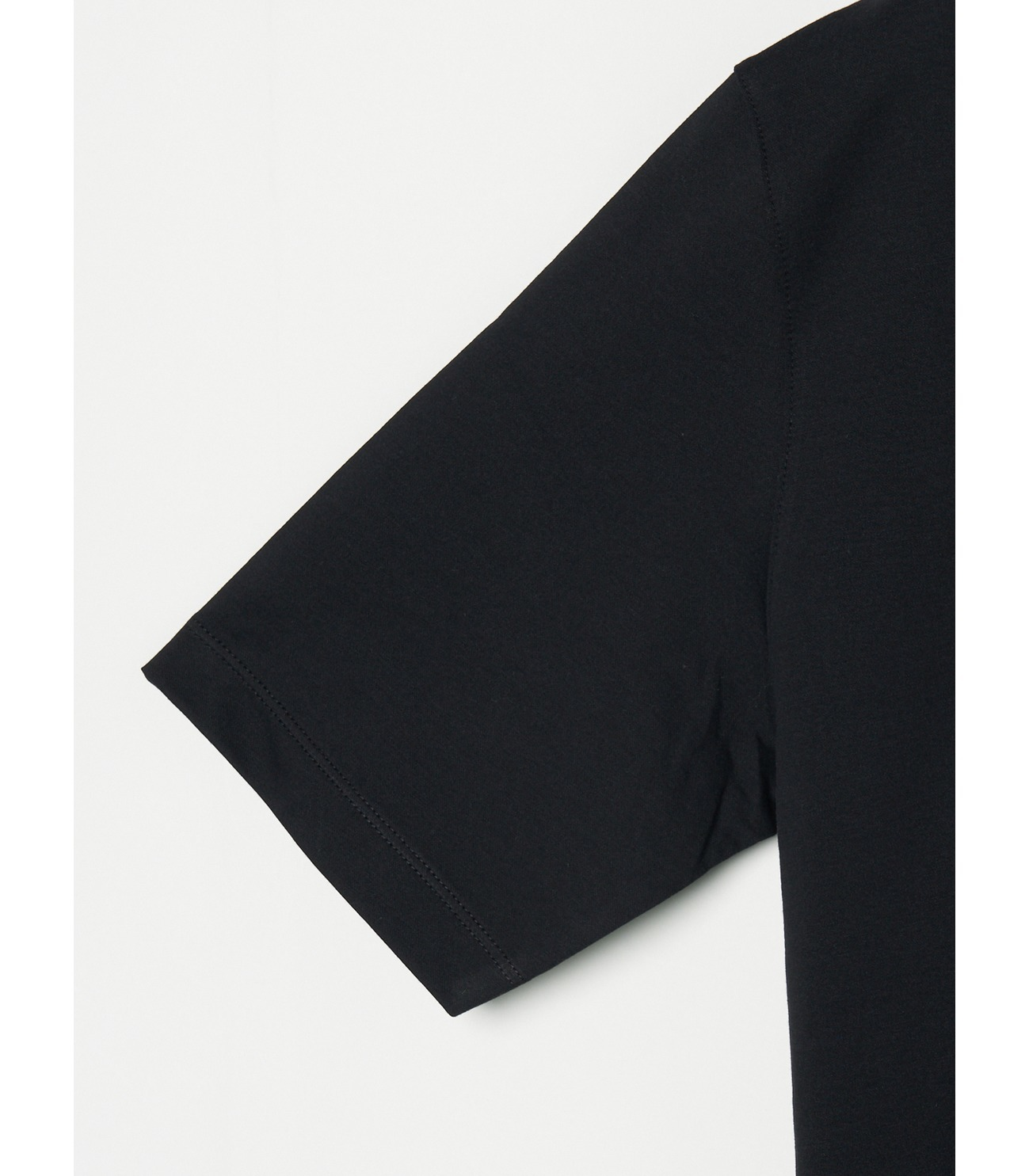 Men's powdery cotton skipper polo 詳細画像 black 3