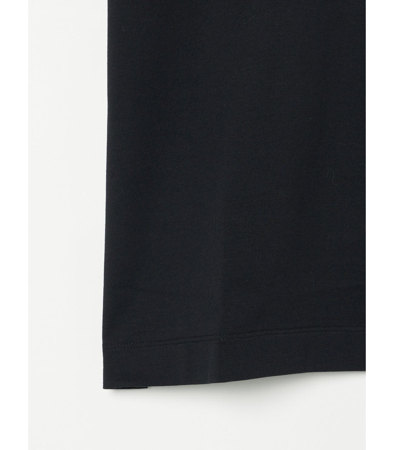 Men's powdery cotton skipper polo 詳細画像 black 4