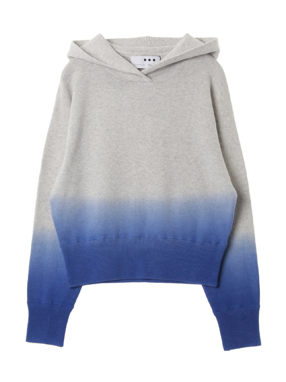 Dip dye sweater pullover