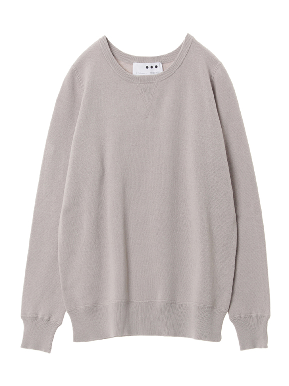 Cotton sweater l/s top