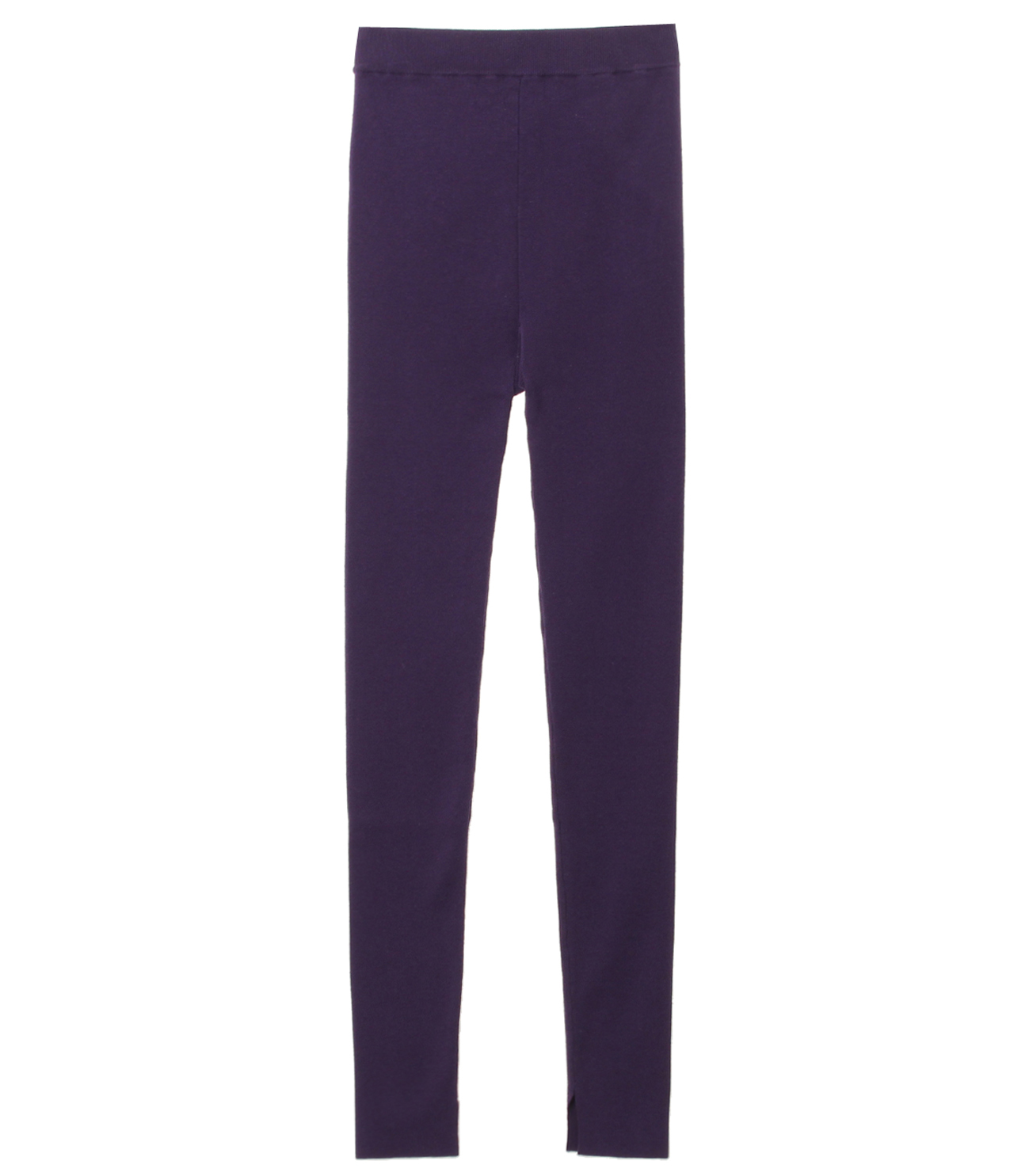 Cotton sweater legging 詳細画像 purple 1