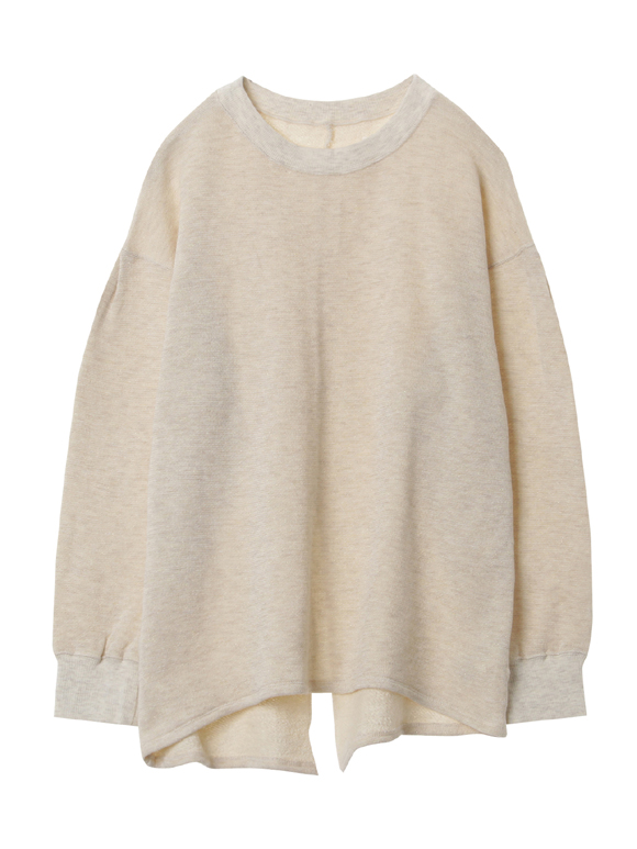 Sparkle french terry l/s top