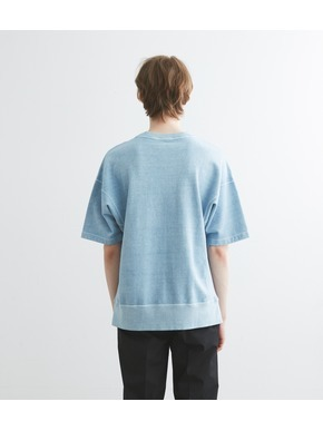 pigment dye cotton s/s  sweat 詳細画像
