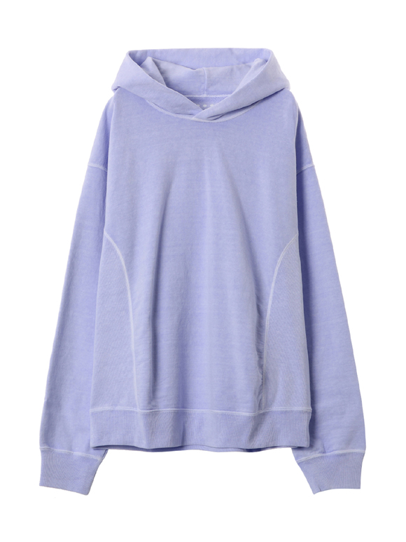 pigment dye cotton hoody
