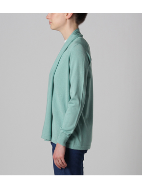 Washable silk l/s cardigan 詳細画像