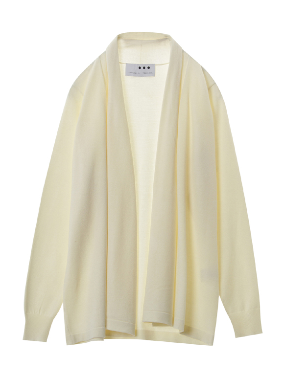 Washable silk l/s cardigan