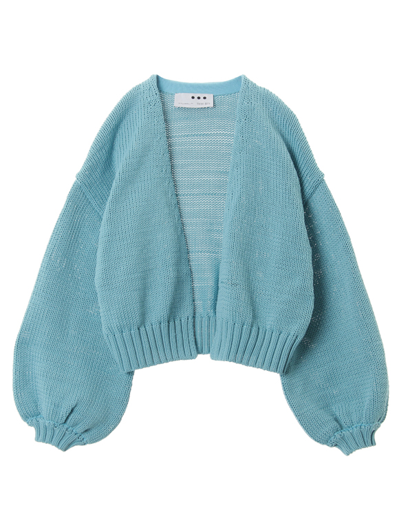Recycle polyester sweater cardigan